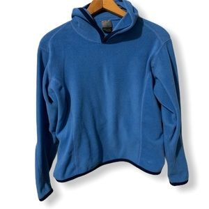Vintage Nike blue with black trim fleece top small
